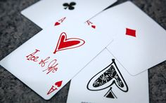 Love Me playing cards :: LOVE THEM