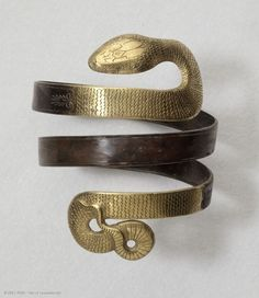 Serpentine bracelet, discovered near Corinth, Greece, 4th-3rd centuries BC - The Louvre