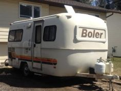 1980 17' Boler Travel Trailer   Sparwood, BC, Canada   Fiberglass RV's For Sale mini trailer, travel trailers