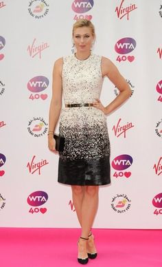 Maria Sharapova at the @WTA pre-@Wimbledon party #tennis