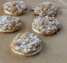 The Food Pusher: Dutch Apple Pie-lettes (Apple Pie Cookies)