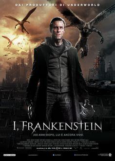 demons, graphic novels, felt, al cinema, graphics, films, frankenstein 2014, posters, full movies