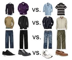 Men- What to wear wh