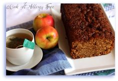 Gluten-Free Chai Spiced Apple Bread - with a Chai Spiced Streusel...