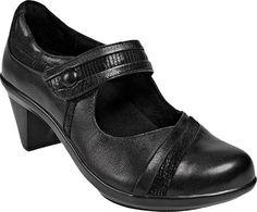 Aravon Anna - Black Leather - my comfort shoe