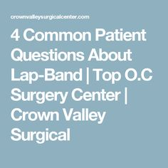 4 Common Patient Que