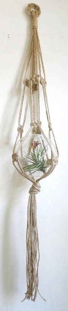 macrame plant hanger {cold picnic}