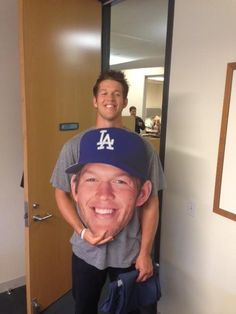 "Something that could never have been said until now, ""@ClaytonKersh22 has a big head"