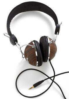 Opportunity Rocks Headphones in Hardwood