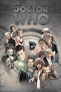 The 50th Anniversary Artwork (all the Doctors)