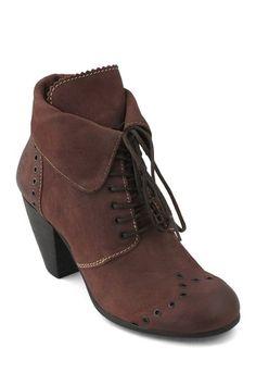 Abil High Heel Lace-Up Shoe by Fly London on @HauteLook
