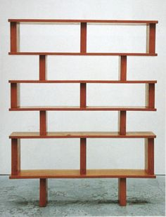 Bookcases on pinterest bookcases pierre jeanneret and atelier - Etagere charlotte perriand ...