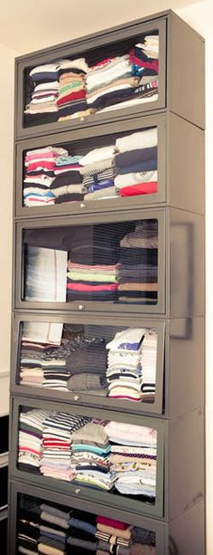 Closet organization at it's finest. http://thecoveteur.com/Sarah_Brown