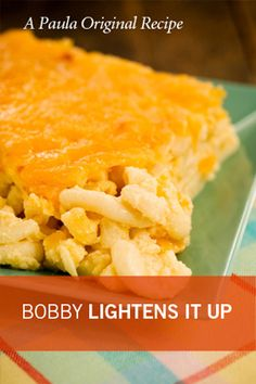 Bobby's Lighter Cheesy Mac