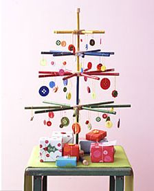 Christmas Button Tree! Love it!