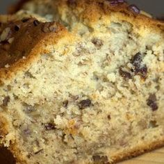 Southern Living 'Cream Cheese Banana Nut Bread'  Very good flavor and great texture that comes from the cream cheese.