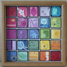 idea, paper craft, color, a frame, card, inchiesdream car, picture frames, soap display, rainbow