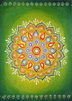 #mandala...perfect color combo