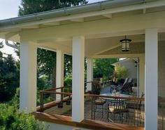 architect, idea, covered decks, deck design, hous, porch railings, wrap around porches, traditional homes, covered porches
