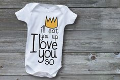 Wild Things onesie!