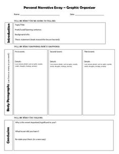 planning page for essay