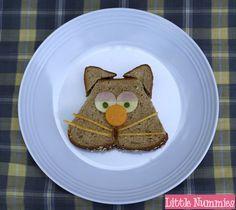 Little Nummies » Simple Kids Lunch: Sleepy Kitty