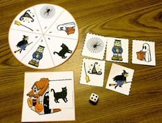 Halloween Games:Strong counting skills will help students progress to a strong math foundation. This in turn benefits them as they advance through the grades. With Halloween Counting Games students can practice their counting skills while having fun This packet consists of four board games and two file folder games.