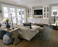 sofa tables, living rooms, famili, new homes, family rooms, hous, live room, console tables, entertainment centers