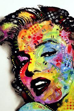 Marilyn Monroe Dean Russo Art Poster