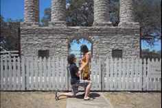 Creative marriage proposal at the original site of Baylor University in Independence, Texas