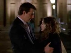 Carrie and Big. Final + favorite scene in Paris.