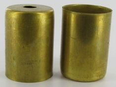 @gpe  SOLID UNFINISHED BRASS SOCKET CUP WITH 1/8SL(7/16in) HOLE. WORKS WITH PORCELAIN 10045,10084,10085,SO10088 SERIES LAMP SOCKETS. INSIDE MEASUR...