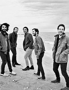 Young the Giant. Stop being so cute ugh <3