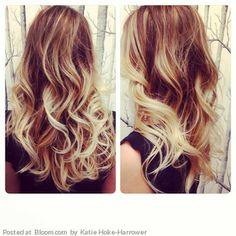 Summer curls and hair coloring.  By Katie Hoke-Harrower