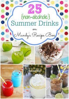 25 {non-alcoholic} Summer Drinks