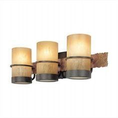 Bamboo Bronze Vanity Light