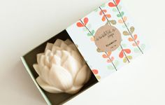 Coconut Soap - BLOOMALIA Lotus Soap - Natural, Handmade, Cold Processed, Vegan. $12,00, via Etsy.