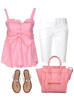 Celine Luggage Small Handbag Baby Pink