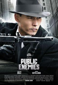 Public Enemies john dilling, film, enemies, johnny depp, public enemi, johnni depp, depp movi, posters, christian movies