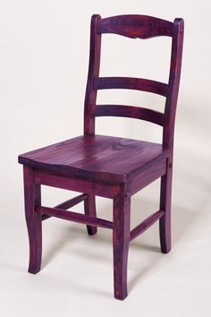 chair stained with rit dye  by rit