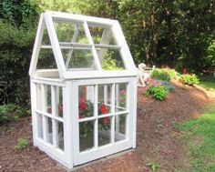 Garden Greenhouse. Super simple and Easy