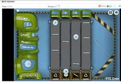 Free Online Game - Become a 6 Sigma Assembly Line Belt Master. Using your mouse move/throw the parts to the correct conveyor. Be careful! Parts are breakable. Fill the bins with the correct number of parts. Do not overfill a bin. Extra parts can be placed in the waste bin. Watch out for broken parts! Try to get a perfect six sigma on every level.