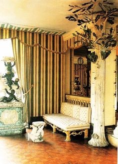 room by Elsie de Wolfe at her home Villa Trianon