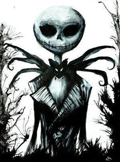 *JACK SKELLINGTON ~ The Nightmare Before Christmas..i could NEVER get enough of those Tim Burton movies