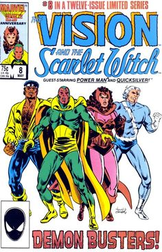 The Vision and the Scarlet Witch. No. 8 in a Twelve-Issue Limited Series. Marvel Comics.