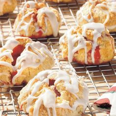 Gooseberry Patch Recipes: Strawberry Surprise Biscuits