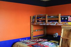 Ashton and karsons bedroom on pinterest 19 pins on for Denver broncos bedroom ideas