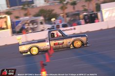 Brandy Phillips' Chevrolet #C10R at the 2014 #OUSCI