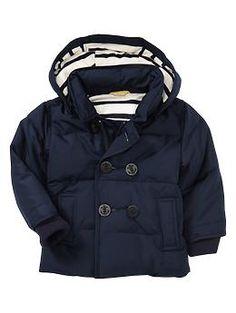 Peacoat puffer jacket | Gap