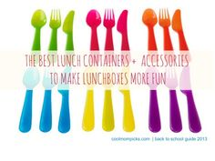 Best lunch containers for kids (and other goodies that make lunch boxes more fun): Back to school guide 2013